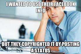 Do You Realize How Dumb You Look By Posting That Facebook Privacy ... via Relatably.com