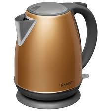 Купить <b>Чайник SCARLETT SC-EK21S86</b>, 1,7 л, 2200 Вт, закрытый ...