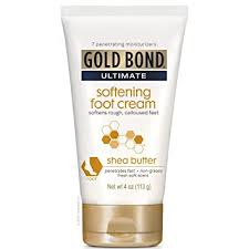 Gold Bond Ultimate Softening <b>Foot</b> Cream with <b>Shea Butter</b>, 4 Ounce