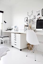 black and white home office inspiration 1 black white home office cococozy 5 black white home office inspiration