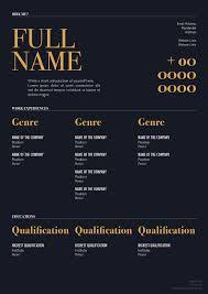 elegant resume template for designers marketing hr i t elegant resume template for designers marketing hr i t professionals