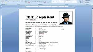 ms word tutorial how to insert picture in resume