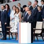 Pour le 14 juillet, Macron salue l'amitié entre la France et l'Amérique