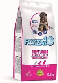 <b>Forza 10 MAINTENANCE PUPPY</b> JUNIOR - Medium/Large al pesce ...