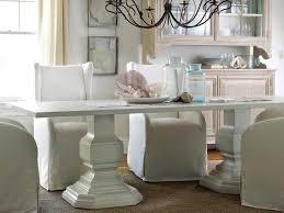 Shabby Chic Dining Room Table Modern Shabby Chic Dining Room With Long White Wood Dining Table