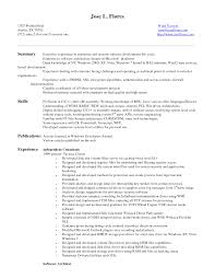 resume for entry level developer professional resume cover resume for entry level developer the 7 ingredients of a well written entry level rsum entry