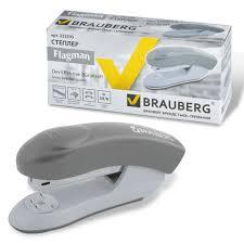 <b>Степлер BRAUBERG</b>, 24/6, до 25 л., <b>энергосберегающий</b> ...