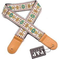 P&P Electric <b>Guitar Strap</b> Embroidered Acoustic Guitar Harness ...