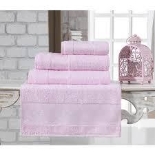 <b>Полотенце Karna Pandora бамбук</b> 70x140 см светло-розовый ...