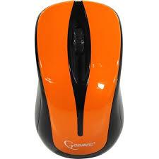 Беспроводная <b>Мышь Gembird MUSW-325-O Orange</b> — купить ...