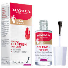 <b>Mavala</b> Gel Effect Nail Polish <b>Top Coat</b>, 10ml at John Lewis & Partners