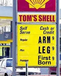 Image result for high gas prices in the 1970s