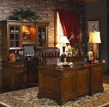 rustic americana hardwood executive desk home office furniture dark oak finish ceo executive office home office executive desk