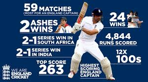 england style steps: alastair cooks captaincy in numbers ecb thank you cooky stats x v