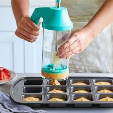 Batter Mixer & Dispenser - Shop | Pampered Chef US Site