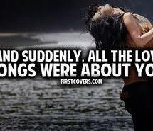 Via web Love songs - image #1373572 by nastty on Favim.com via Relatably.com