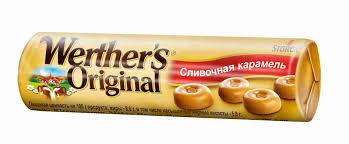 <b>Конфеты Werther's Original карамель</b> сливочная 50г - купить с ...