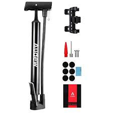 <b>ZUKKA</b> Bike Pump Portable,Hand Bicycle Floor Air Foot Tire Pump ...