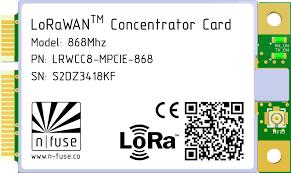 <b>LoRaWAN</b> Concentrator Card ‒ n-fuse