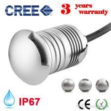 <b>CREE LED IP67 12V</b> 24V Outdoor Garden Patio Paver Recessed ...