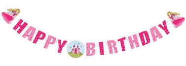 <b>Herlitz Happy</b> Birthday Princess Garland :: Товары для праздников ...