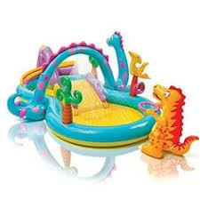 <b>Intex</b>-Inflatable-Play-Center-<b>Rainbow</b>-Ring-Kids-Swimming-<b>Pool</b> ...