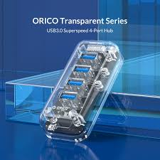 <b>ORICO</b> Desktop Transparent USB 3.0 HUB <b>4 7 Ports</b> 5Gbps High ...