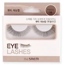 The Saem <b>Накладные ресницы Eyelash Clear</b> Line 1 — купить по ...