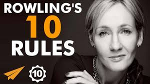 j k rowling s top rules for success jk rowling