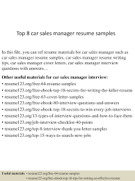 top8car smanagerresumesamples 150521074646 lva1 app6892 thumbnail 4 jpg cb 1432194421