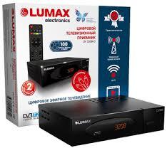 <b>Цифровой</b> эфирный <b>ресивер Lumax</b> DV3208HD