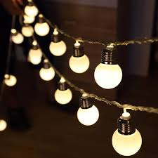 Home, Furniture & DIY 100 <b>Berry Balls</b> LED String Lights White ...