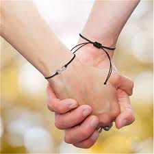 Gift <b>Bracelets</b> Jewelry <b>Accessories</b> Charm Adjustable For <b>Couple</b> ...