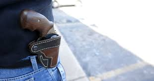 answer man guy had gun on hip legal to open carry
