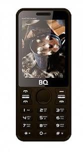 Купить <b>Сотовый телефон BQ</b> 2812 Quattro Power black по ...