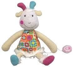 Купить <b>Мягкая игрушка Ebulobo</b> Козочка Жужу 30 см по низкой ...