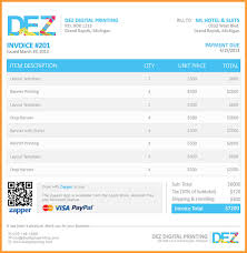 sample invoices letter format mail sample invoices example 002 jpg