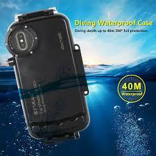 <b>PULUZ 40m 130ft</b> Waterproof Diving Housing <b>Underwater Case</b> For ...