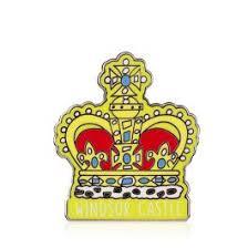 Buy Windsor Castle Crown <b>Pin Badge</b>   Official <b>Royal</b> Gifts
