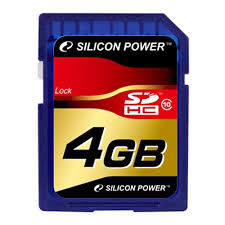 <b>Карта памяти</b> SILICON POWER SDHC <b>4GB</b> Class 10 — купить в ...