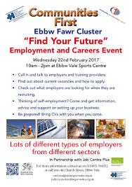 employment career fair events flyer