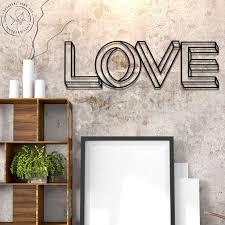 <b>Декоративная надпись LOVE</b> YOU на стену для интерьера