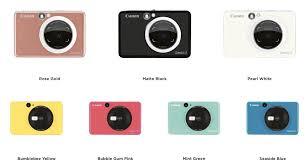 <b>Canon</b> Announces <b>Zoemini S</b> and <b>Zoemini</b> C Instant <b>Cameras</b> With ...