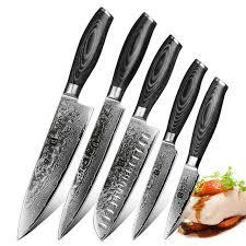 XINZUO 5 шт. <b>кухонные ножи Набор</b> 67 слоев VG <b>10</b> Япония...