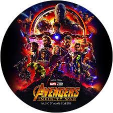 Soundtrack Alan Silvestri: <b>Avengers</b> - <b>Infinity</b> War (Picture Disc)(LP ...