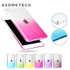 For Apple <b>ipad</b> Mini 1 2 3 4 Silicone Soft <b>Case</b> Colorful <b>Gradient</b> ...