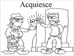 Images & Illustrations of acquiesce