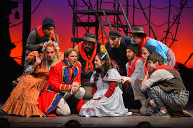 theater review peter and the starcatcher theatreworks in palo michael gene sullivan ron campbell darren bridgett christopher reber adrienne walters