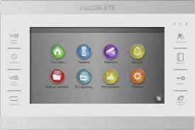 Купить <b>Видеодомофон FALCON EYE FE-70</b> ATLAS HD, белый в ...