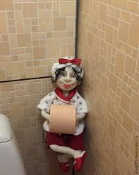Купить.#Кукла <b>держатель запасного рулона туалетной</b> бумаги ...